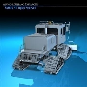 snowcat 3d model 3ds dxf c4d obj 82712