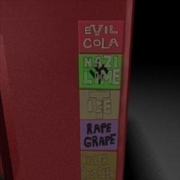 soda vending machine 3d model ma mb 106549