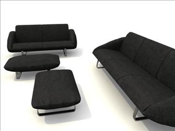 sofa_4pieces 3d model ma mb obj 82780