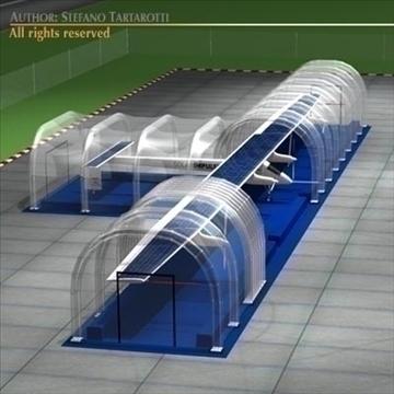 saules impulss ar piepūšamu angāru 3d modelis 3ds dxf c4d obj 98486