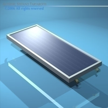 solar panel 3d model 3ds dxf obj other 81066