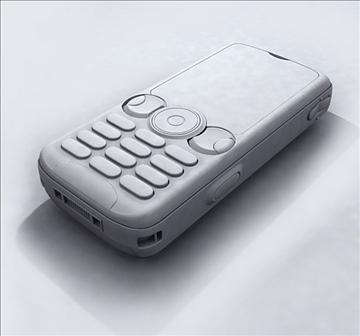 sonyericsson w810c 3d model max 84982