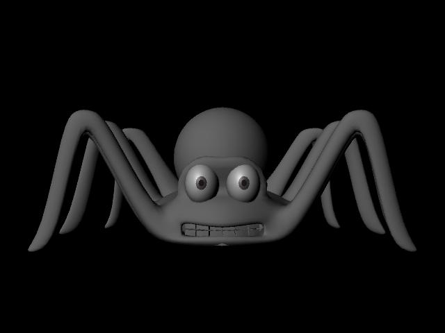 spider 3 3d model ma mb 108610