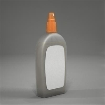 spray bottle 3d model 3ds max fbx obj 107807