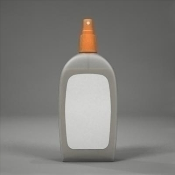 spray bottle 3d model 3ds max fbx obj 107808