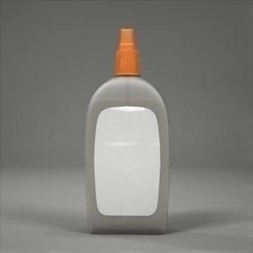 spray bottle 3d model 3ds max fbx obj 107811