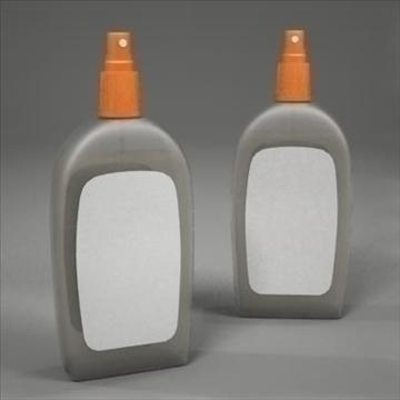 spray bottle 3d model 3ds max fbx obj 107814