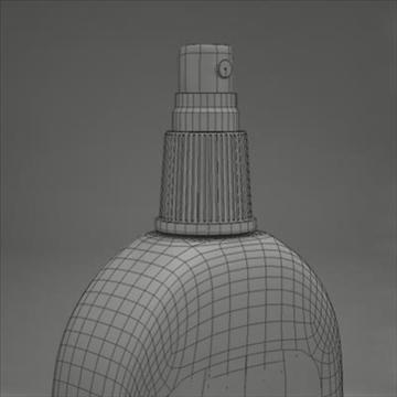 spray bottle 3d model 3ds max fbx obj 107816