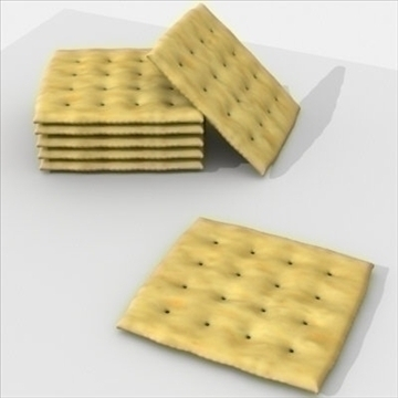 square crackers 3d model 3ds dxf fbx lwo other texture obj 98728