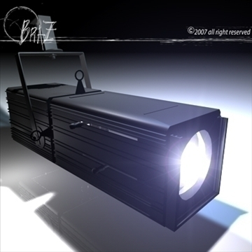 stage light c4d 3d model 3ds dxf c4d obj 85222