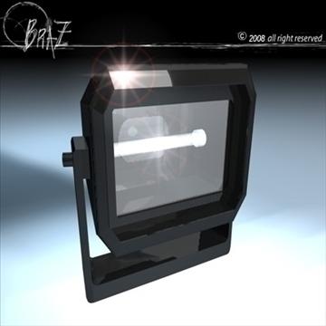 səhnə işıqlı lampalar 3d model 3ds dxf c4d obj 88492