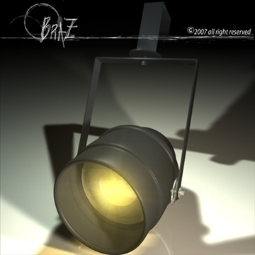 stage light – lucciola 3d model 3ds fbx c4d obj 85203