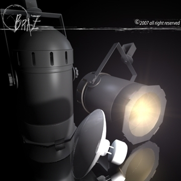 stage light – par 3d model 3ds dxf c4d obj 85209