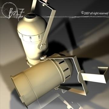 skatuves gaisma - par 3d modelis 3ds dxf c4d obj 85213