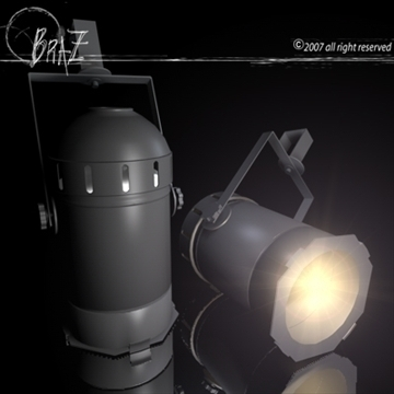 skatuves gaisma - par 3d modelis 3ds dxf c4d obj 85215