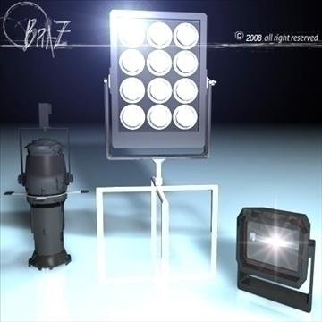 skatuves gaismas komplekts 2 3d modelis 3ds dxf c4d obj 88612