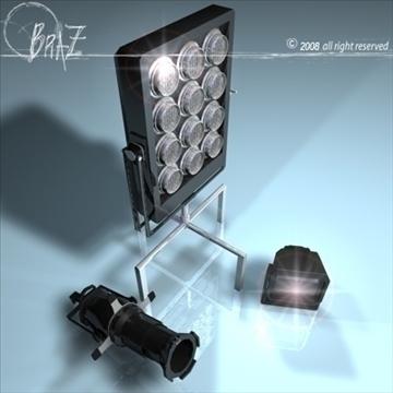 skatuves gaismas komplekts 2 3d modelis 3ds dxf c4d obj 88616