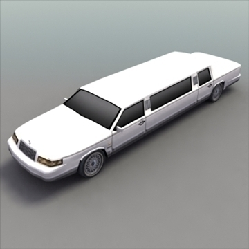 stretch_limo_luxury 3d model 3ds max ma mb obj 99245