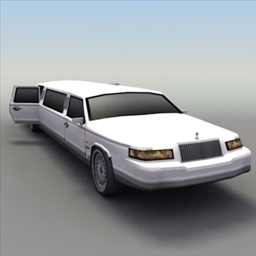 stretch_limo_luxury 3d model 3ds max ma mb obj 99248