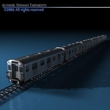 subway train without interior 3d model 3ds dxf c4d obj 81972