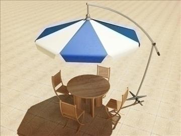 summer cafe 3d model 3ds max obj 105762