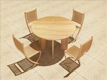 summer cafe 3d model 3ds max obj 105763