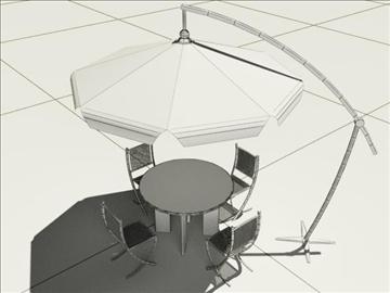 summer cafe 3d model 3ds max obj 105764