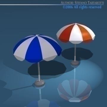 sun umbrella 3d model 3ds dxf obj 78904