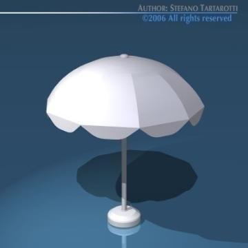 sun umbrella 3d model 3ds dxf obj 78905