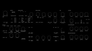 synthesizer 3d model 3ds max fbx obj 107486