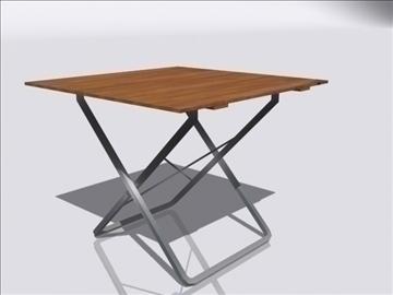 table a 3d model 3ds max obj 108400