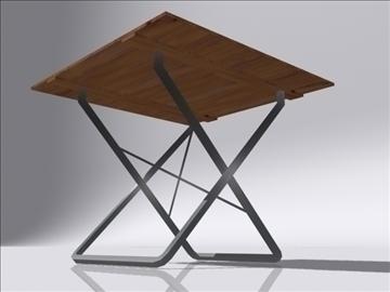 table a 3d model 3ds max obj 108402