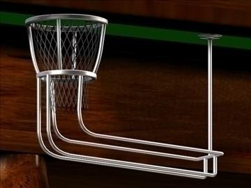 the billiard(snooker)table 3d model max 107735