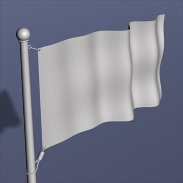 tibetan flag.zip 3d model 3ds dxf fbx c4d x obj 88410