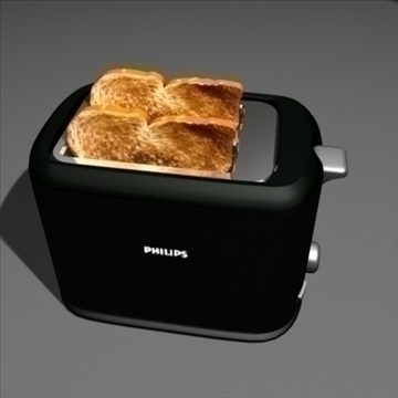 toaster 3d model max 99154