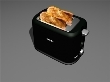 toaster 3d model max 99155
