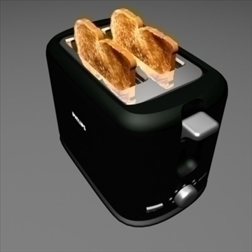 toaster 3d model max 99157