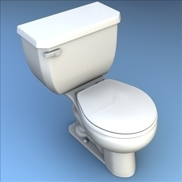 toilet 33 3d model 3ds max lwo hrc xsi obj 106319