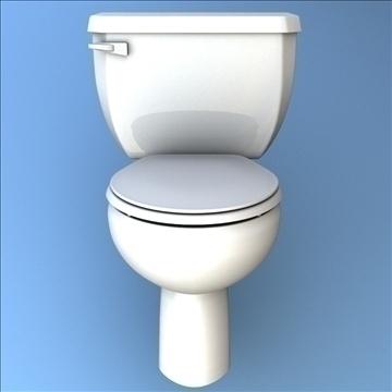 toilet 33 3d model 3ds max lwo hrc xsi obj 106320
