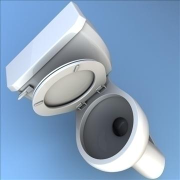 toilet 33 3d model 3ds max lwo hrc xsi obj 106321