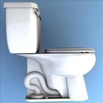 toilet 33 3d model 3ds max lwo hrc xsi obj 106322