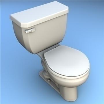 toilet 33 3d model 3ds max lwo hrc xsi obj 106323
