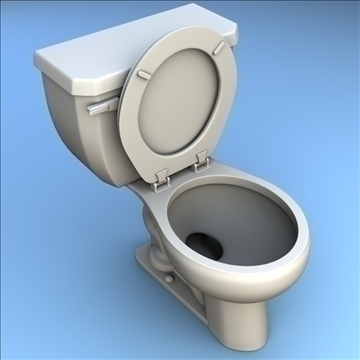 toilet 33 3d model 3ds max lwo hrc xsi obj 106324