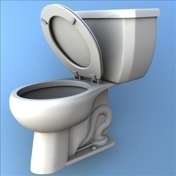 toilet 33 3d model 3ds max lwo hrc xsi obj 106325