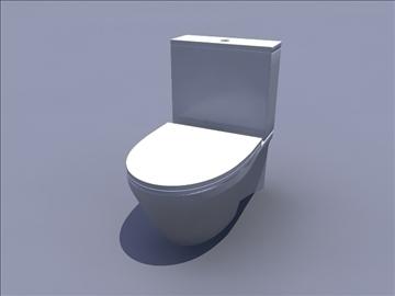 toilete 3d model ma mb 82813
