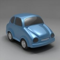 Toon Car ( 47.54KB jpg by 3DGL )