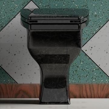 totem wc 3d model 3ds max dxf obj 82255