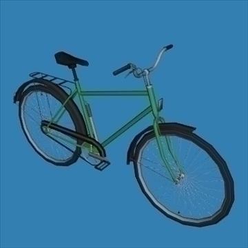 touring bike 3d model 3ds 97618
