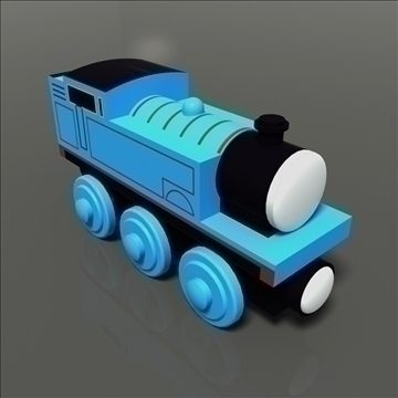 tren de joguina model 01 3d màxim 81763