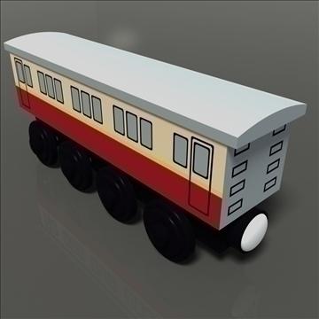 toy train 12 3d model max 81765